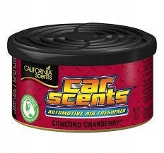 California Car Scents CONCORD CRANBERRY zapach