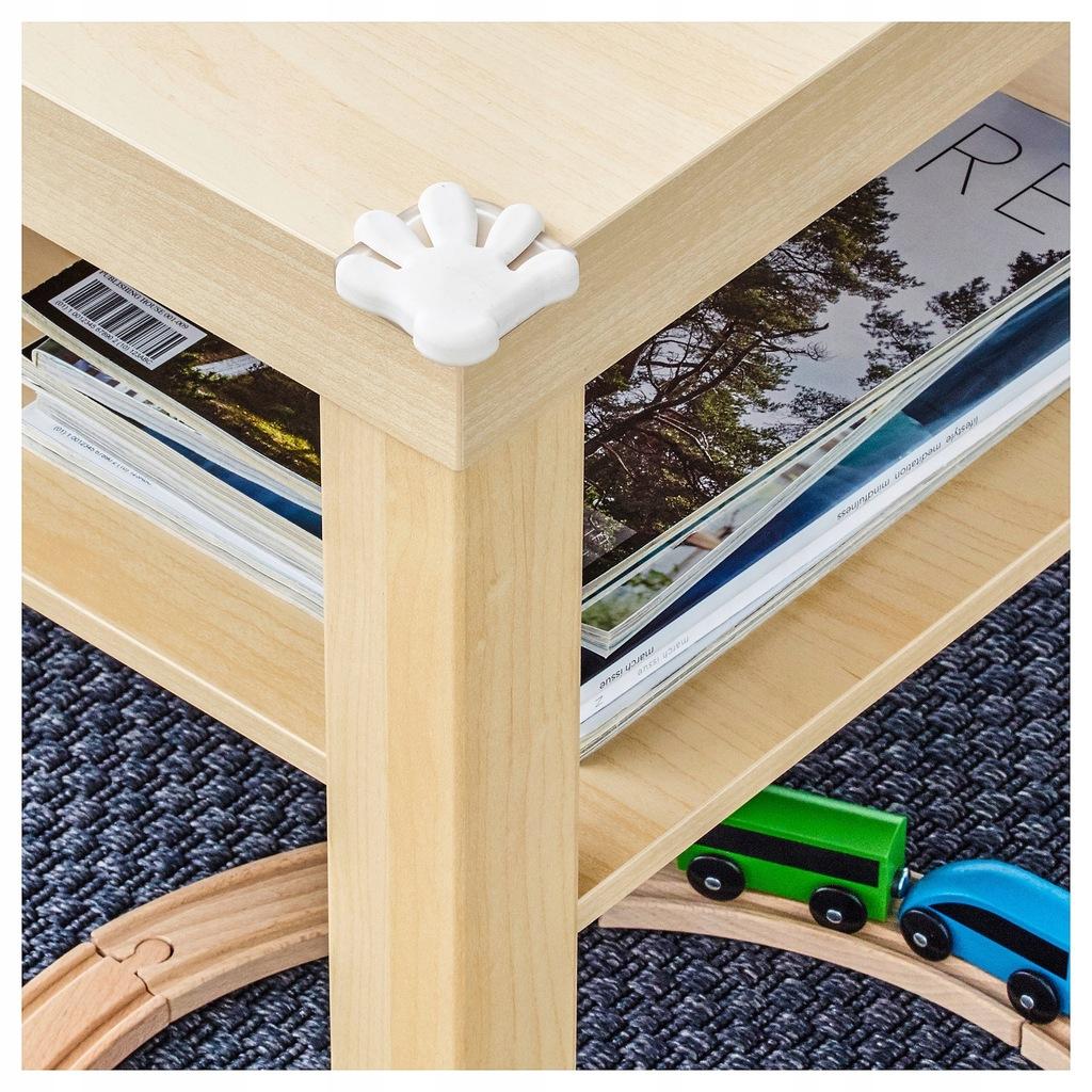 IKEA PATRULL Ochraniacz Zabezpieczenie Stolu BIEL