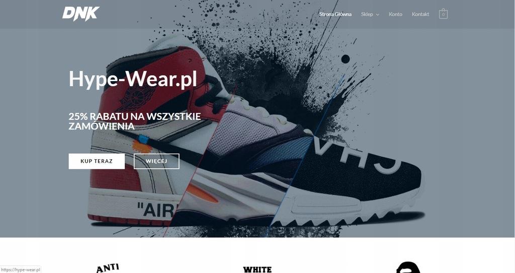 Hype-Wear.pl Biznes Sklep Odzieżowy ZARABIAJ