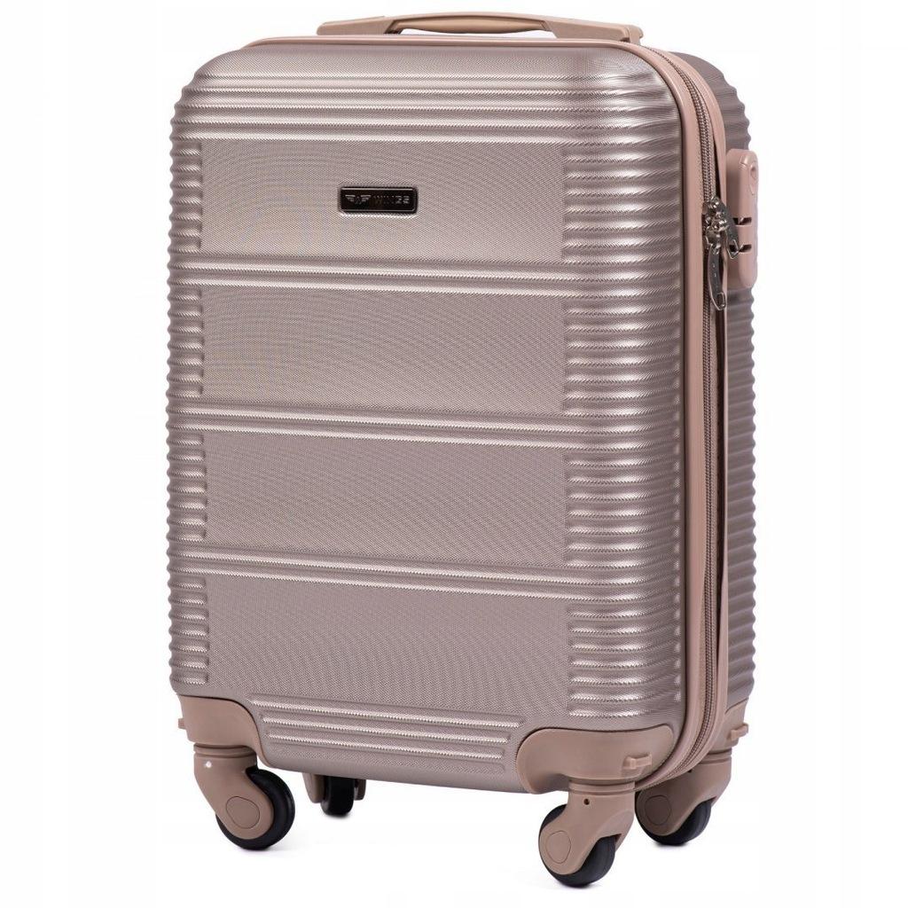 Exclusive Mała walizka KABINOWA bagaż XS WINGS ABS