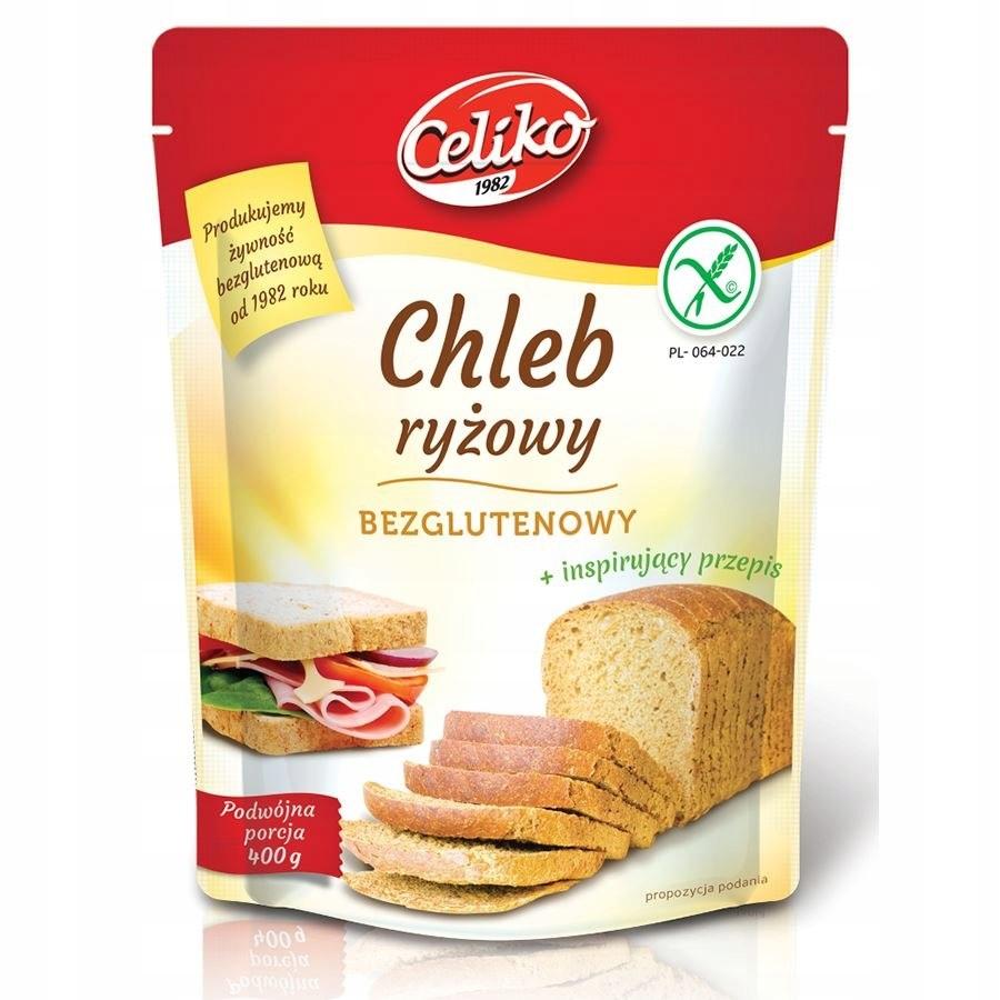 Mieszanka na chleb ryżowy bezglutenowy Celiko, 400