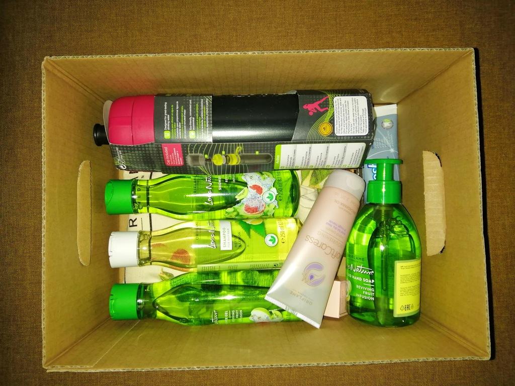 Eko torba plus zestaw kosmetyków