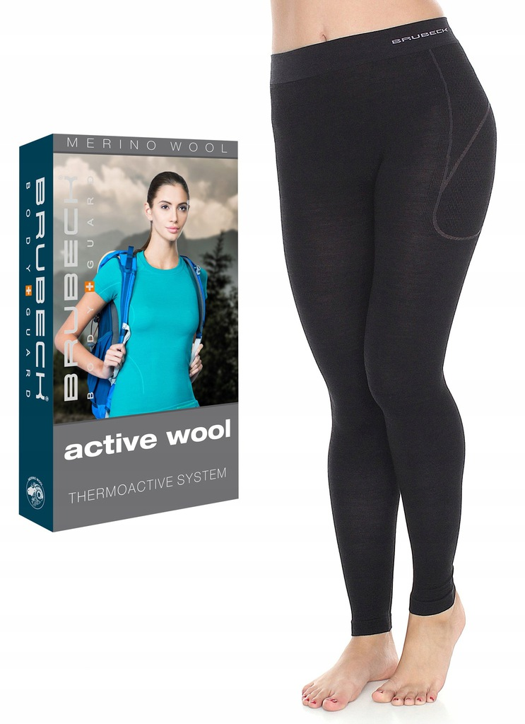 L-TERMOAKTYWNE Getry damskie BRUBECK Active Wool