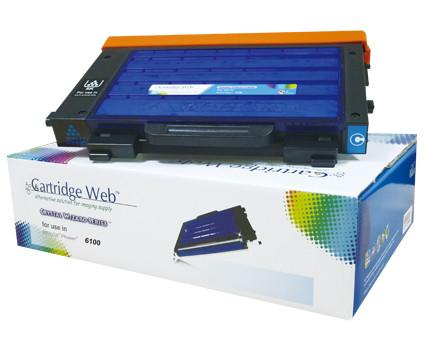Toner Cartridge Web Cyan Xerox 6100 106R00680