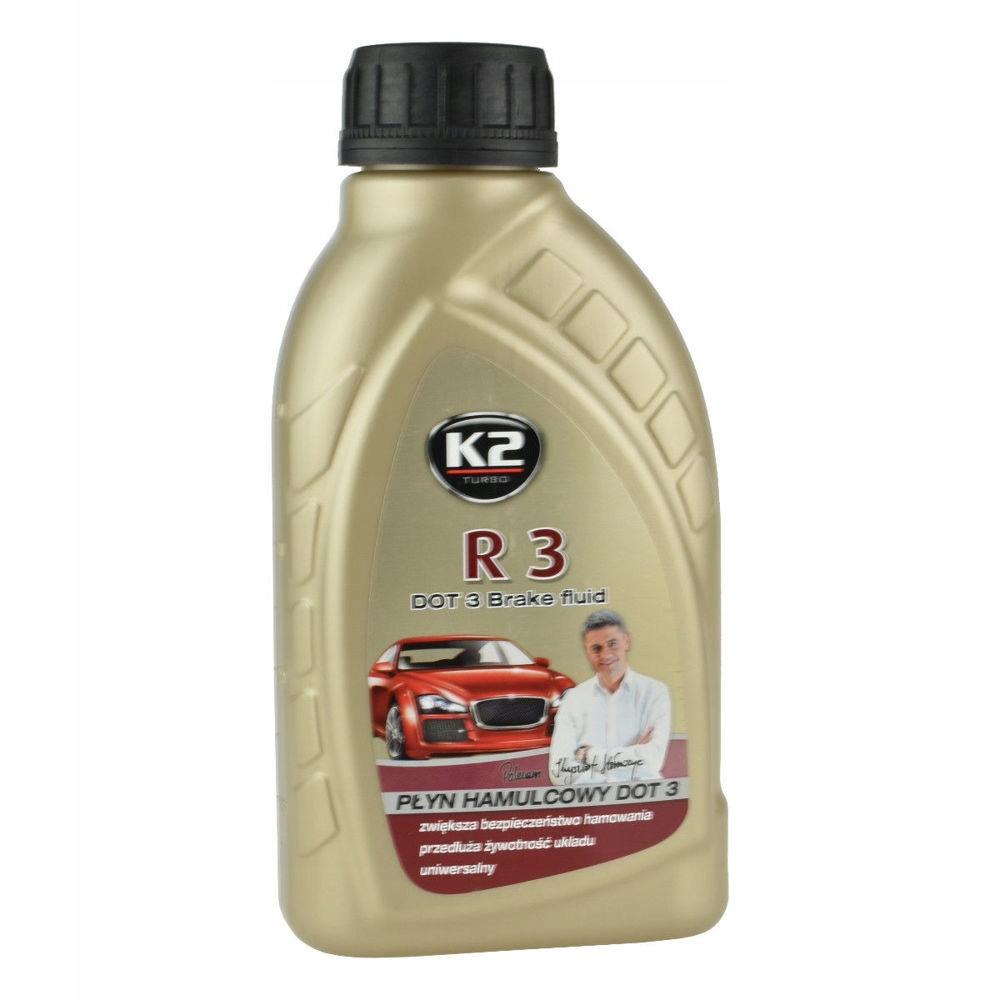 K2 R3 DOT3 0,5 L płyn hamulcowy DOT 3 0,5L 500ml