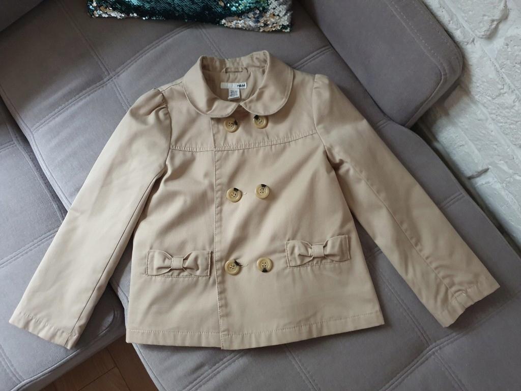 H&M krótki płaszczyk 122