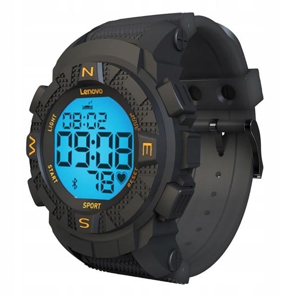 Smartwatch Lenovo EGO HX07 5ATM Sportowy czarny