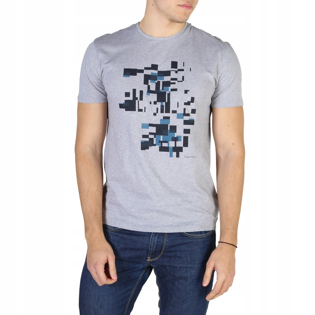 Calvin Klein męski T-shirt szary S