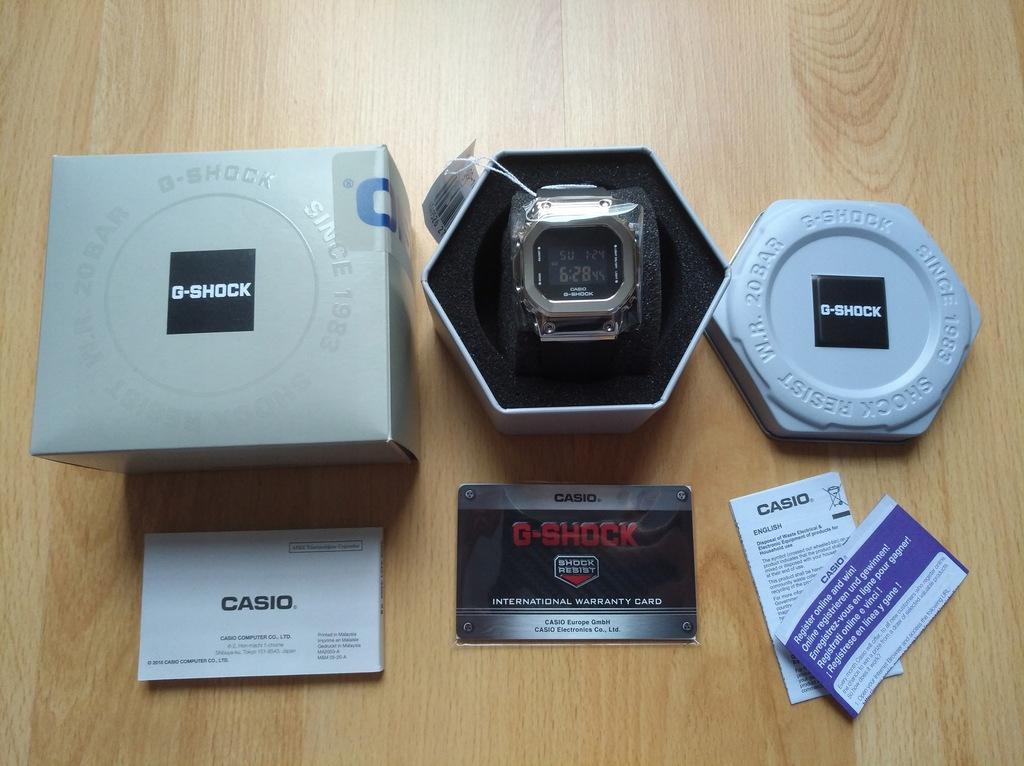 G-Shock G-Steel Casio zegarek nowy