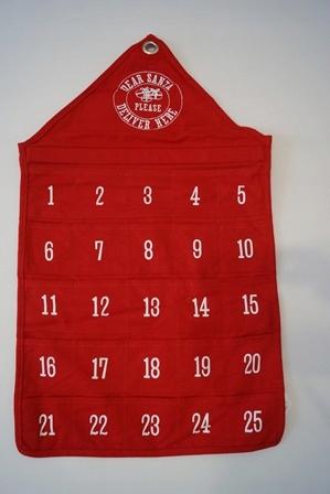 H M Home Kalendarz Adwentowy 45x82 Cm 8809599434 Oficjalne Archiwum Allegro