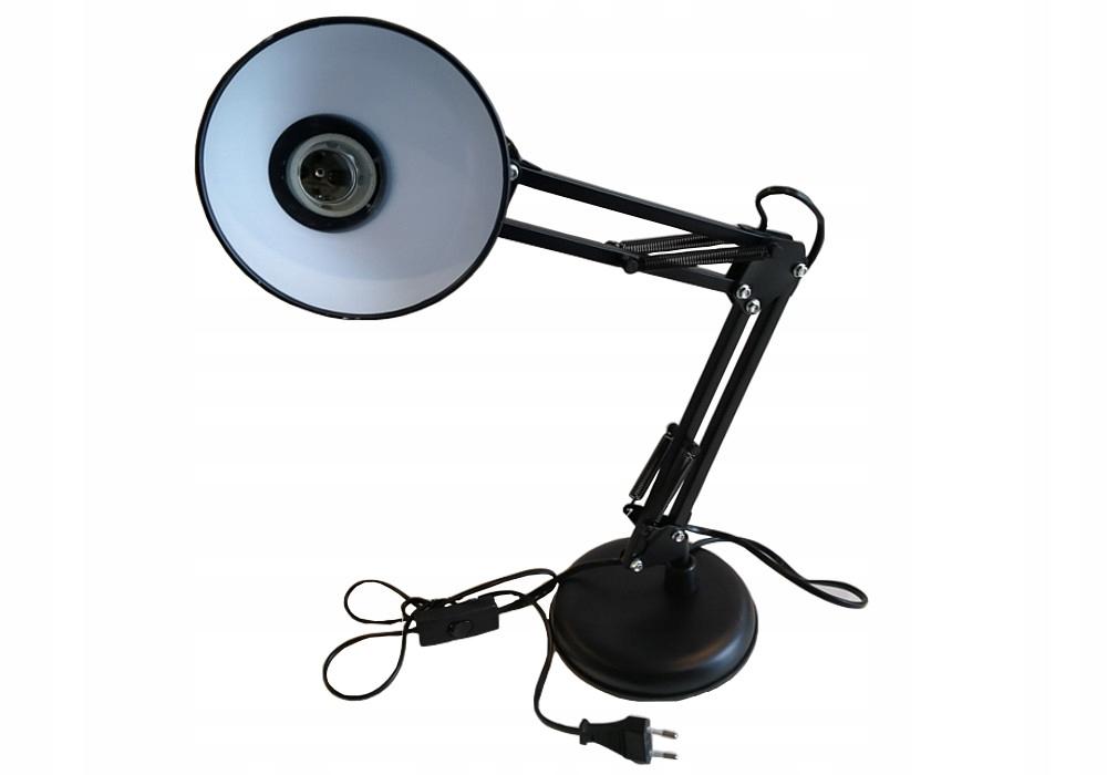 LAMPKA NA BIURKO LED Z KABLEM ZASILAJĄCYM 150CM