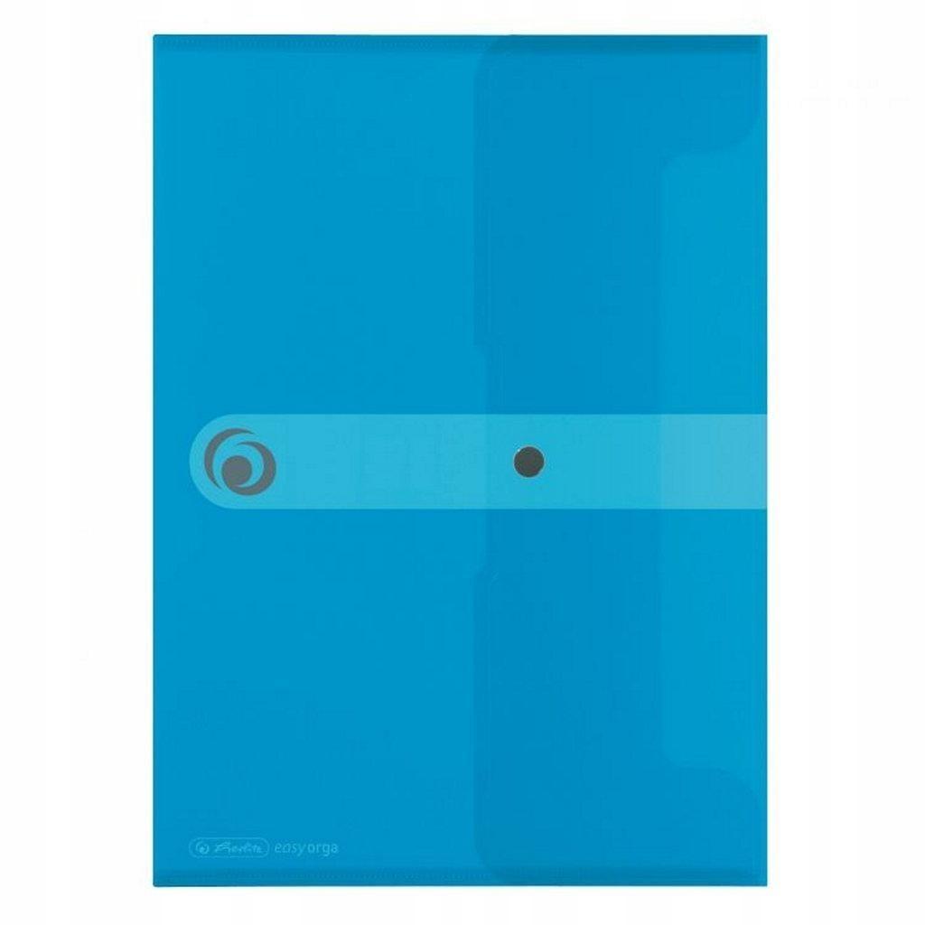 Teczka DL PP na dokumenty Easy Orga niebieska