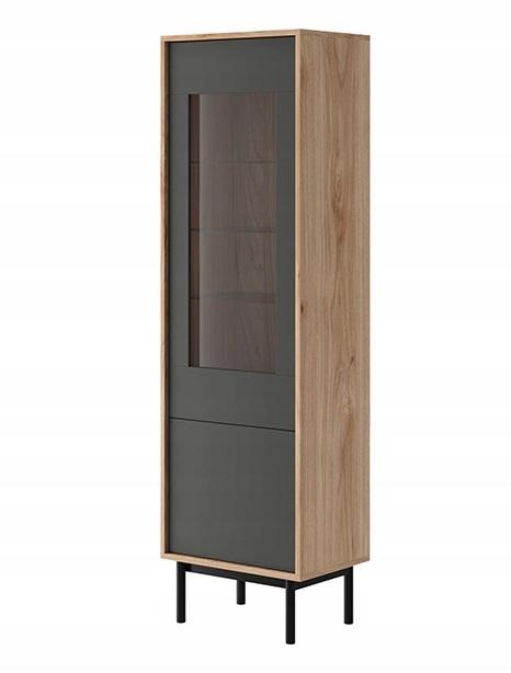 BERIT witryna wysoka jednodrzwiowa 54 styl LOFT