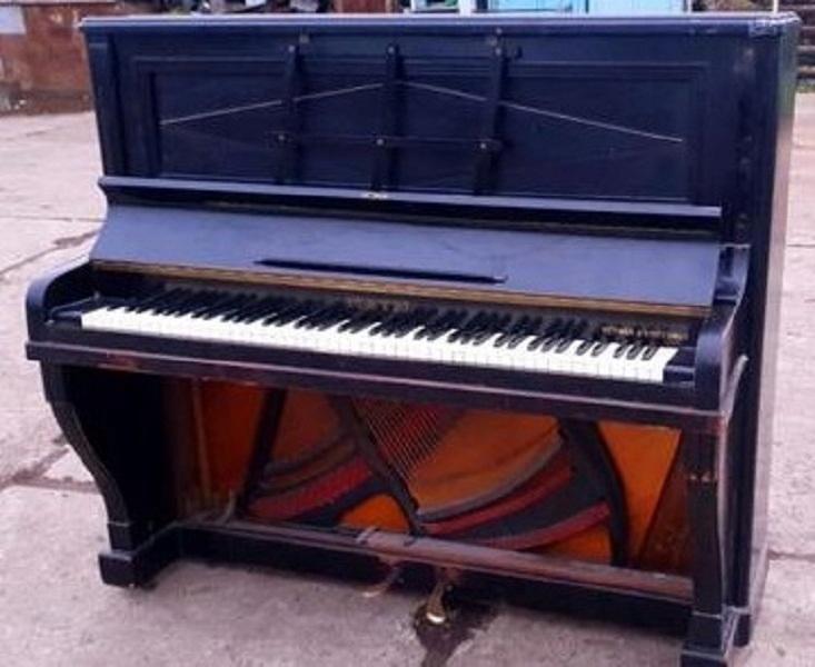 Stare pianino Herman&Grossman antyk