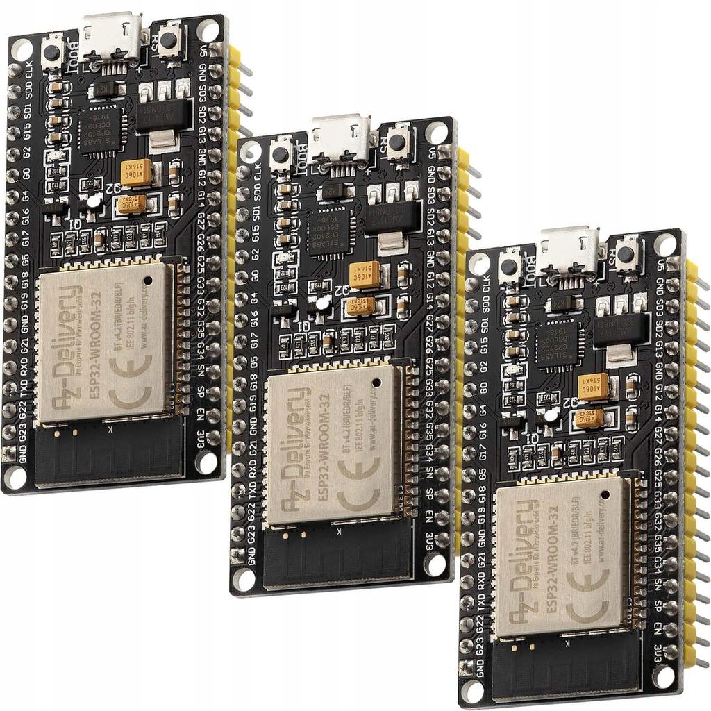 Płytka rozwojowa AZDelivery modułu WLAN WiFi