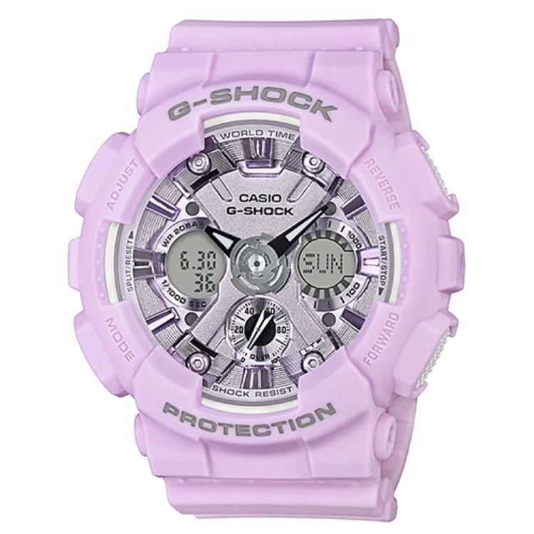Zegarek damski Casio G-Shock GMA-S120DP-6A