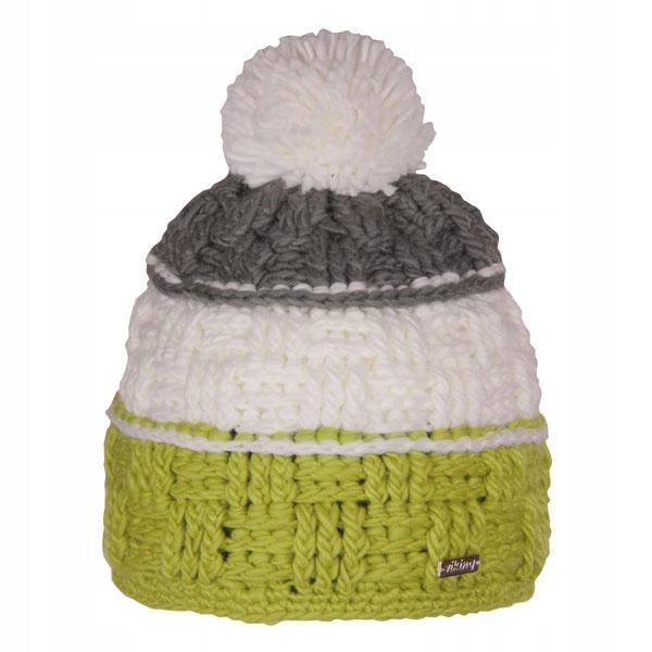 Damska czapka z dużym pomponem VIKING Tara