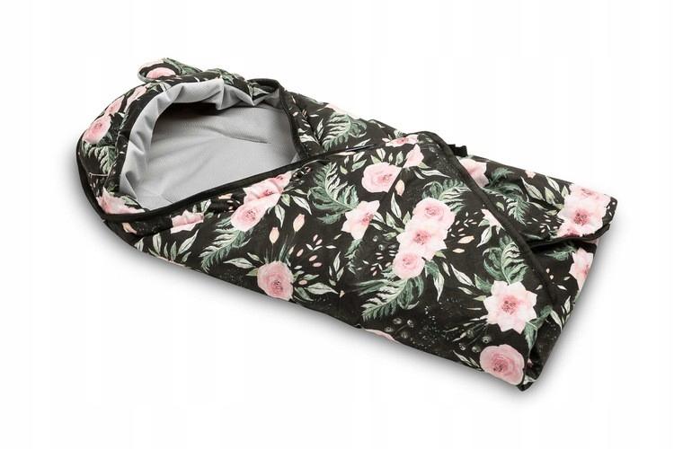 Otulacz do fotelika Velvet 90/90 kwiaty Sensillo
