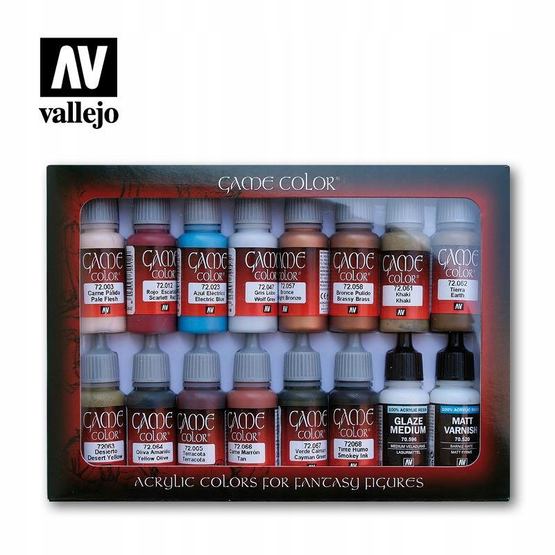 Zestaw farb Vallejo Game Color Specialist 72297