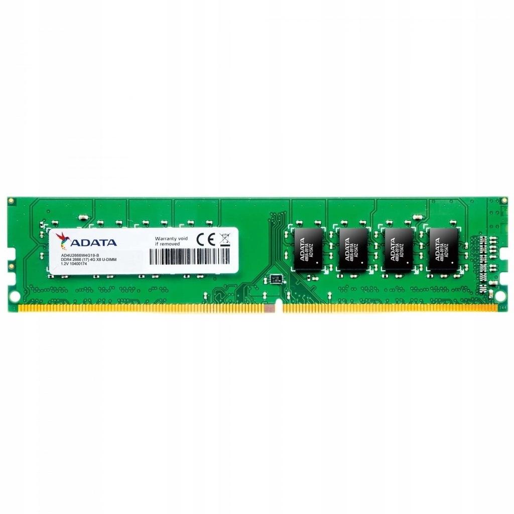 ADATA Premier DDR4 2666 DIMM 8GB CL19 SingleTray