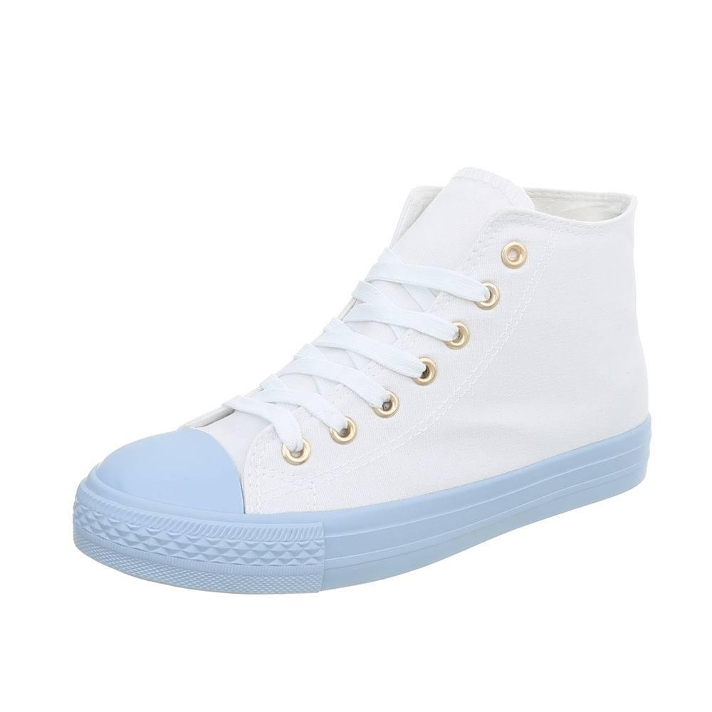 Trampki,tenisówki białe, pastelowe niebieskie 36
