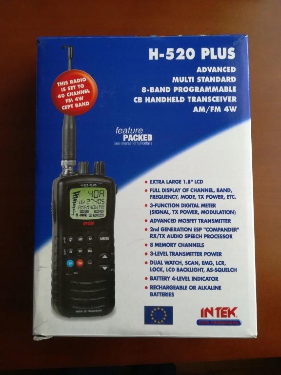 Intek H-520 PLUS CB ręczne ręczniak
