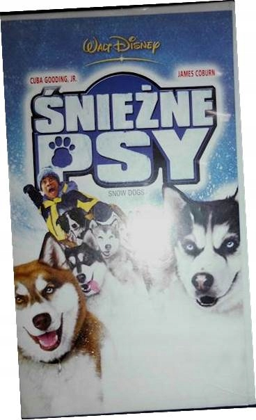 Śnieżne psy - VHS kaseta video
