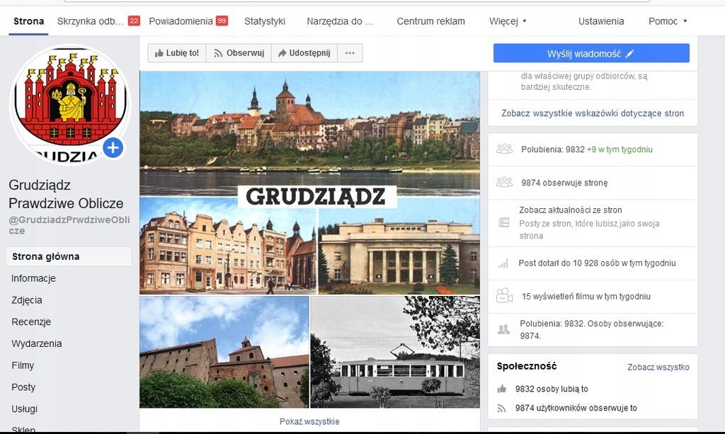 Fanpage miejski-100 tysięcznego miasta ! + grupy.