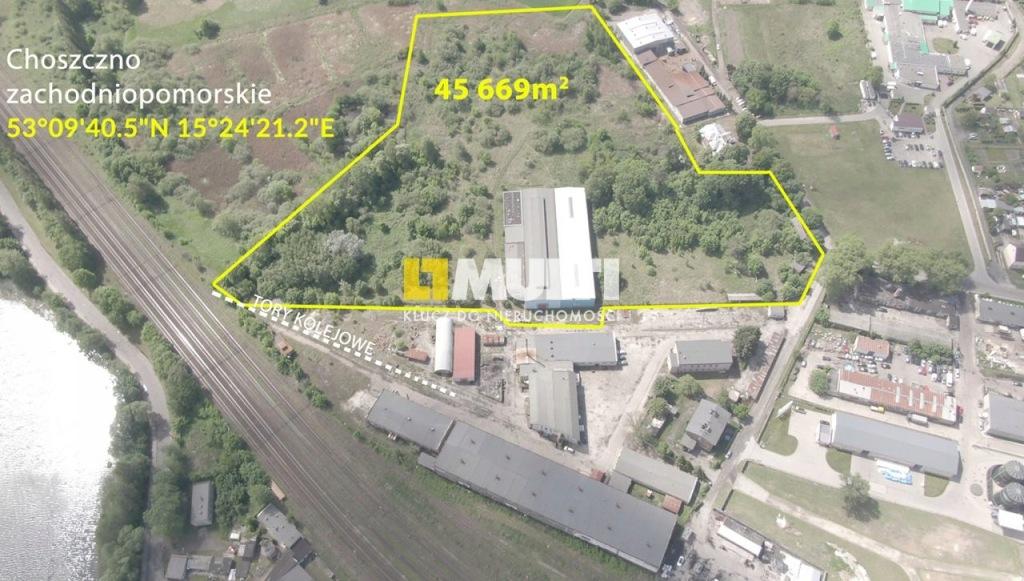 Magazyny i hale, Choszczno, 45669 m²