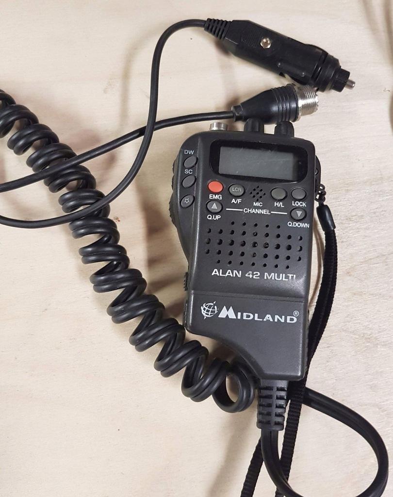 CB radio krótkofalówka MIDLAND ALAN 42 MULTI