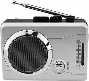 DigitNow Przenośne radio FM srebrne