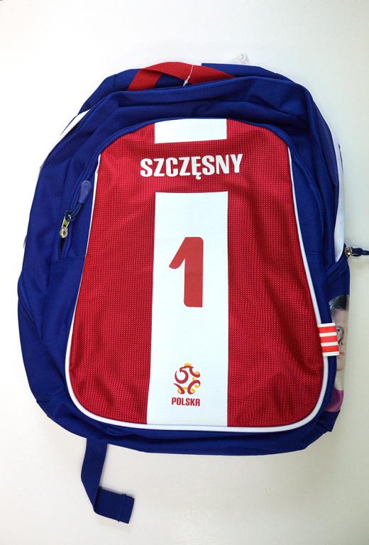 Maciej Szczęsny - plecak szkolny