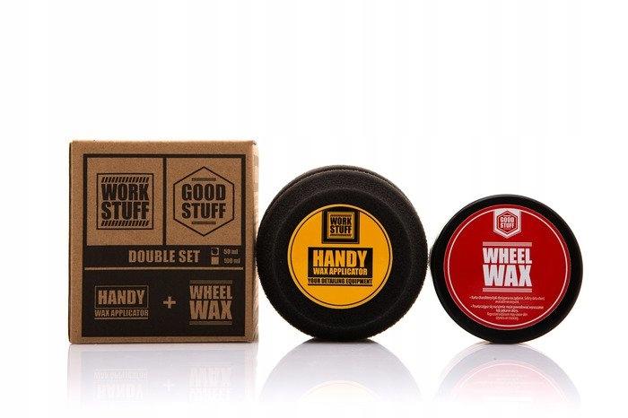 Good Stuff Wheel Wax 50ml wosk do felg zestaw