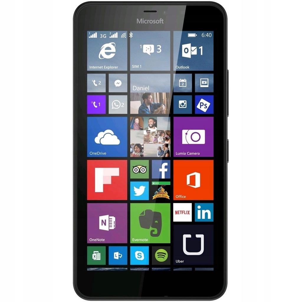 czarna Microsoft Lumia 640 LTE bez locka