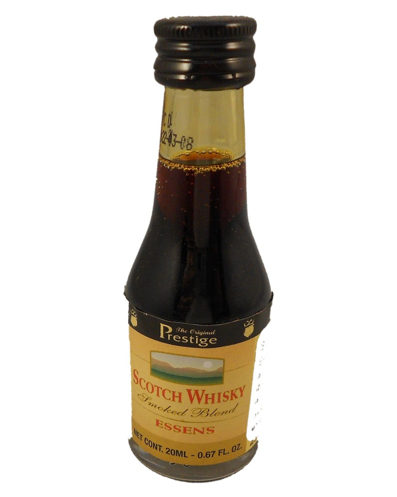 Esencja zaprawka do alkoholu Scotch Whisky Smoked