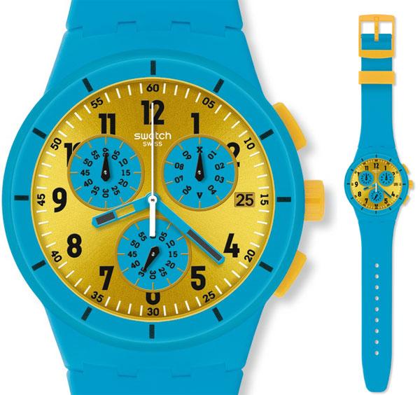 Zegarek Swatch SUSS400 MARESOLI plastic chrono