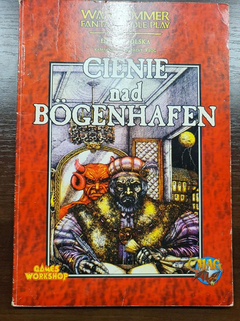 CIENIE NAD BOGENHAFEN - Warhammer RPG - 1 ed.