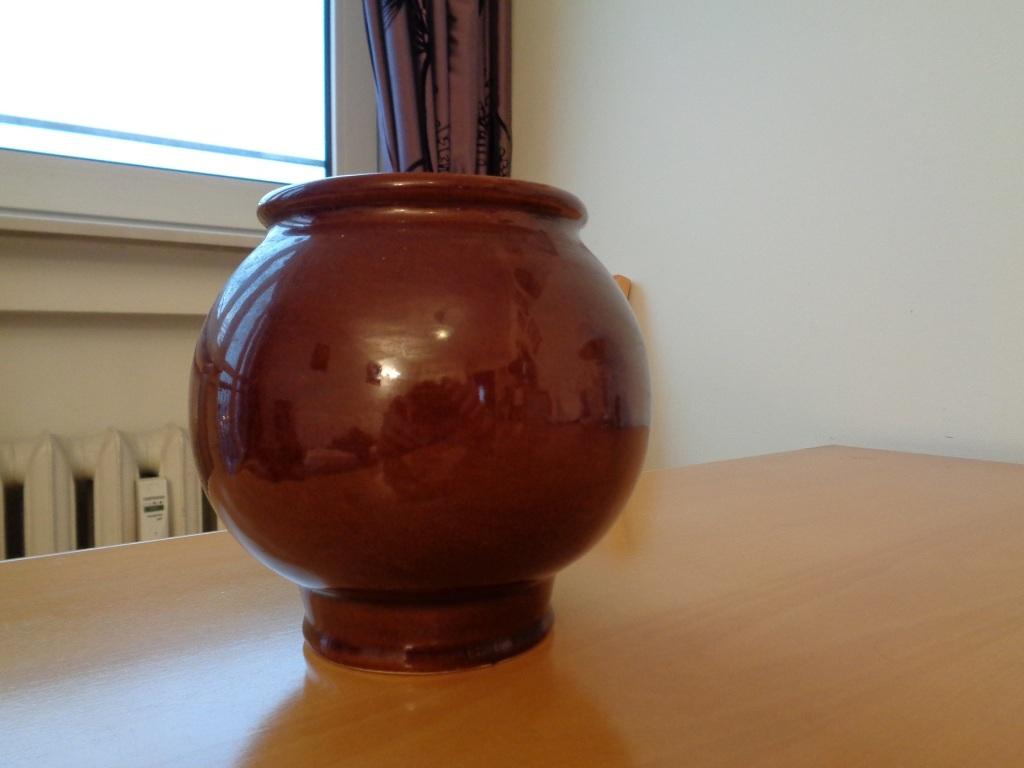ceramiczne naczynie/wazon/flakon z lat 70-tych