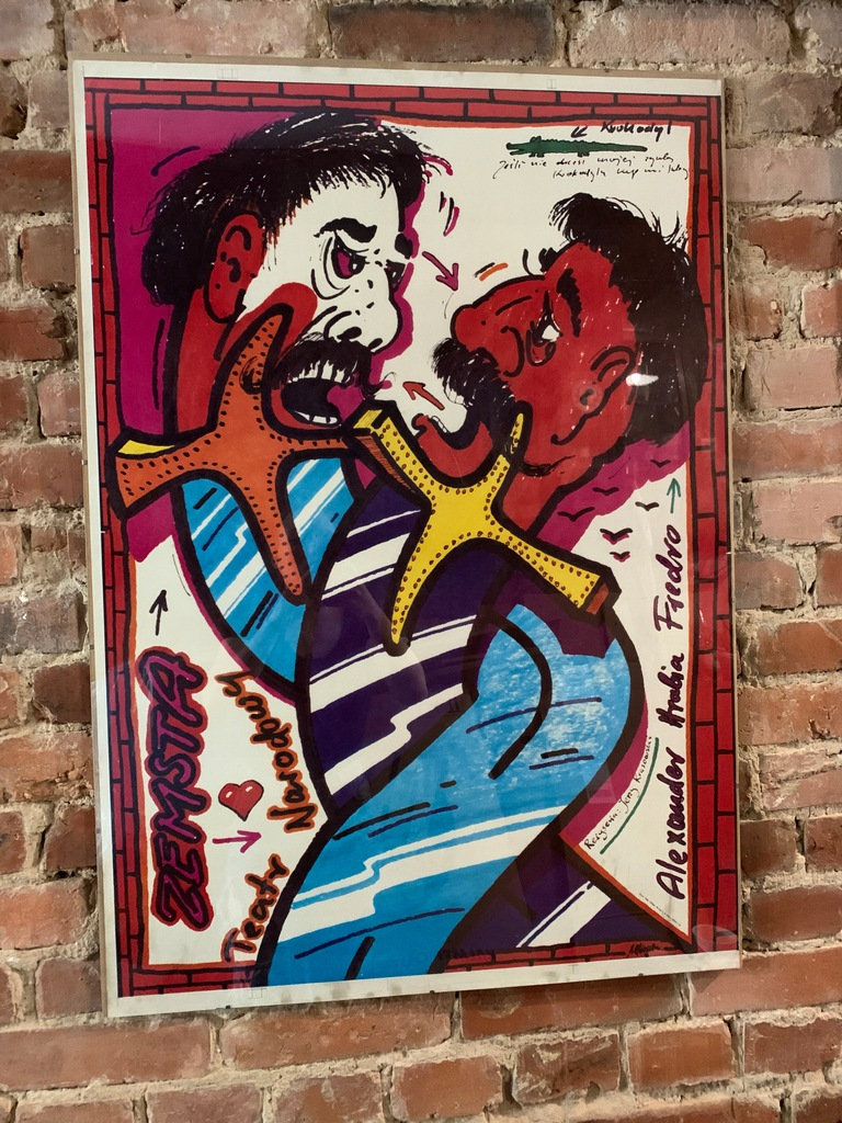"""""""Zemsta"""" Pągowski plakat 1983r."""