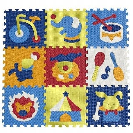 Piankowe puzzle podłogowe zadziwiający cyrk - 54 e