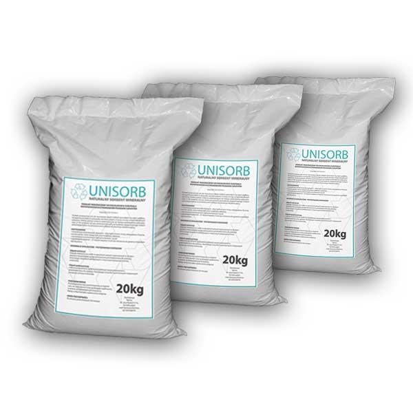 Sorbent do oleju UNISORB 1000kg granulat (0,5-1mm)