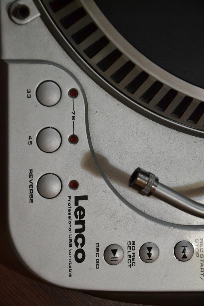 TANIO-GRAMOFON USB-PC-REC=Bez igły->DJ-DOM!