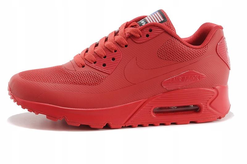 Nike Air Max 90 Hyperfuse Męskie Czerwony