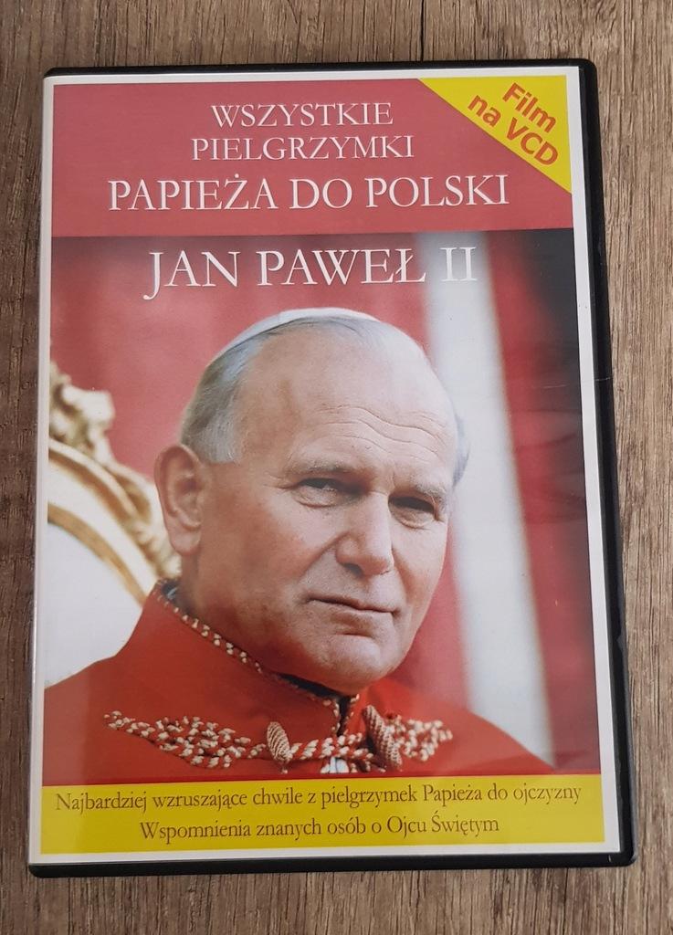 JAN PAWEŁ II Wszystkie pielgrzymki do Polski VCD