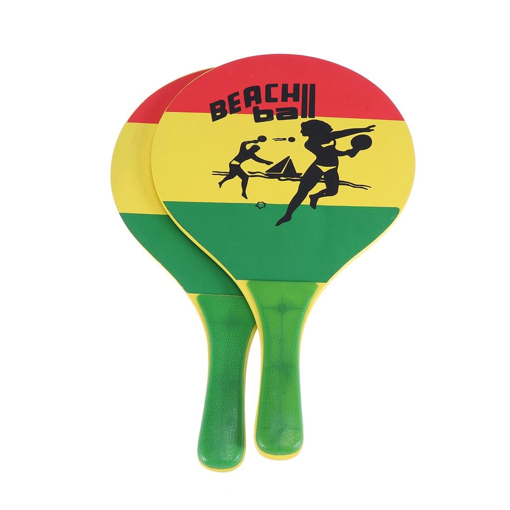 1 para Beach Ball Paddle Racket Beach Badminton Ra