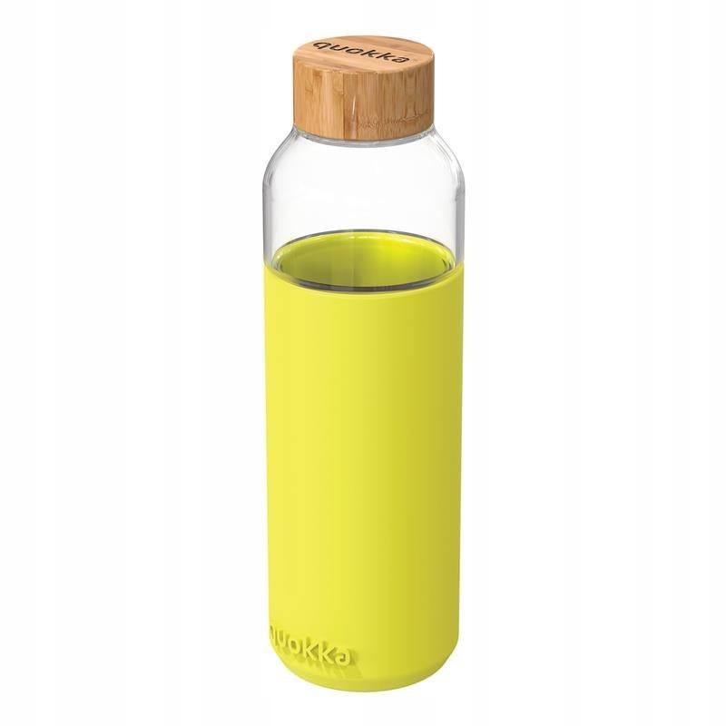 Quokka Flow - Butelka na wodę ze szkła 660 ml (Neo