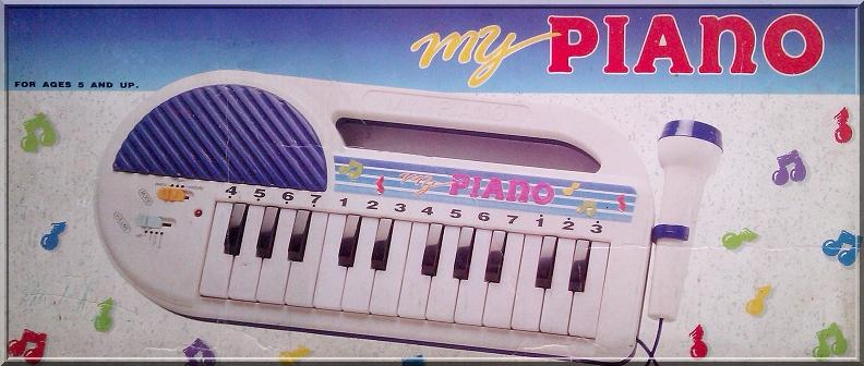 MY PIANO ORGANKI ORGANY KEYBOARD PIANINO PIANINKO