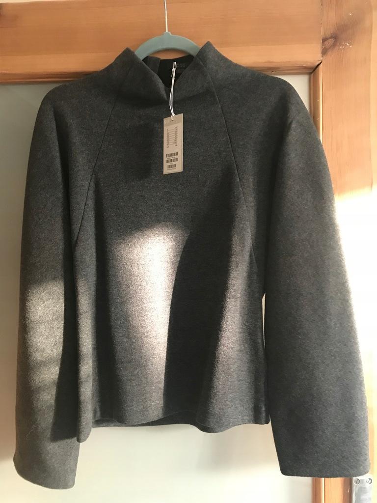 Wełniana bluza COS XS 140 zł nowa + próbki