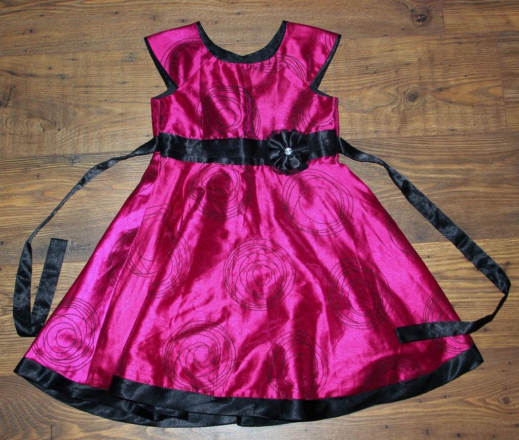 JAK NOWA elegancka sukienka okazja 6-7 lat 122