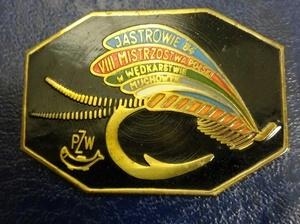 Odznaka wędkarska PZW Muchowe Jastrowie 84